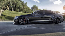 Previous-gen Mercedes-Benz S-Class gains wide bodykit from Prior Design