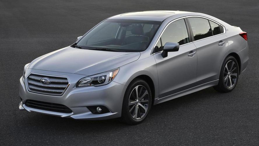 2015 Subaru Legacy pricing announced (US)