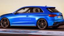Audi RS3 render