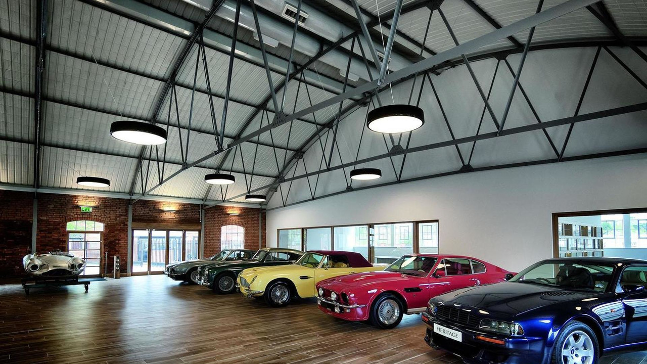 Aston Martin Heritage Showroom 20.6.2013