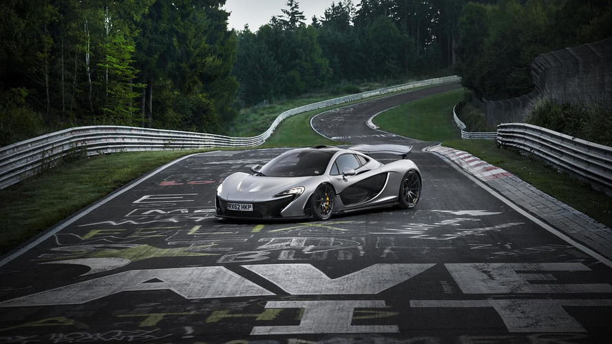 McLaren confirms P1 lapped the 'Ring with an average speed of more than 111 mph, pics released