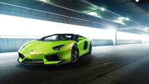 Vorsteiner shows off its Lamborghini Aventador-V Roadster aka 'The Hulk'