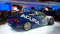 Acura TLX GT race car live in Detroit
