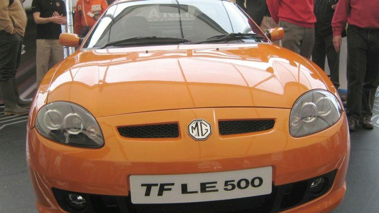 New MG TF sports car
