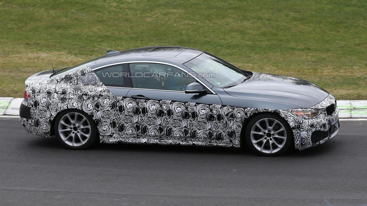 BMW 4-Series with M Sport Package spy photo 18.04.2013