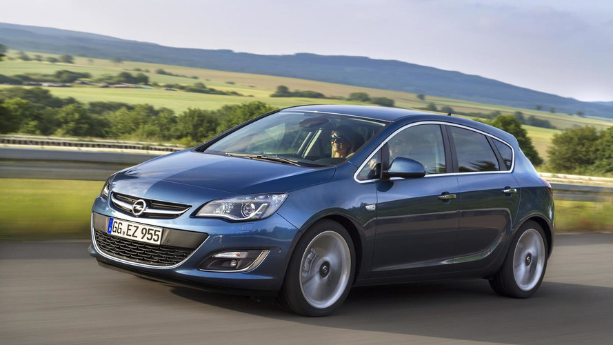 Opel Astra gets 170 HP 1.6-liter SIDI Turbo gasoline engine
