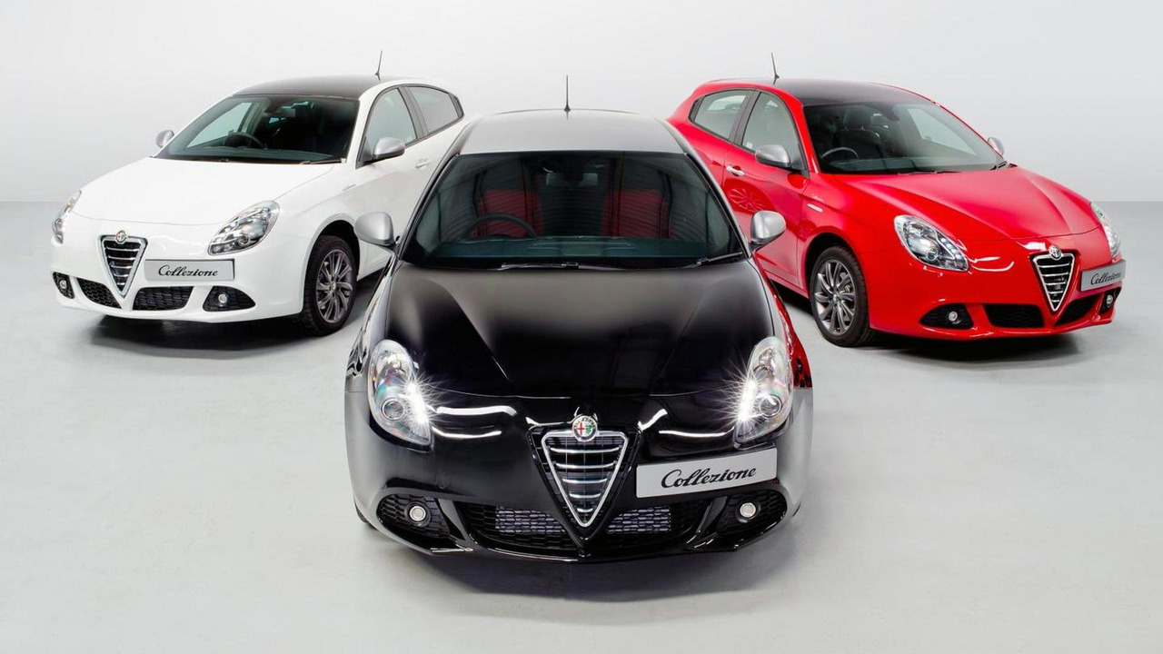 Alfa Romeo Giulietta Collezione range 23.05.2013