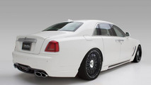 Rolls-Royce Ghost Black Bison package introduced by Wald International