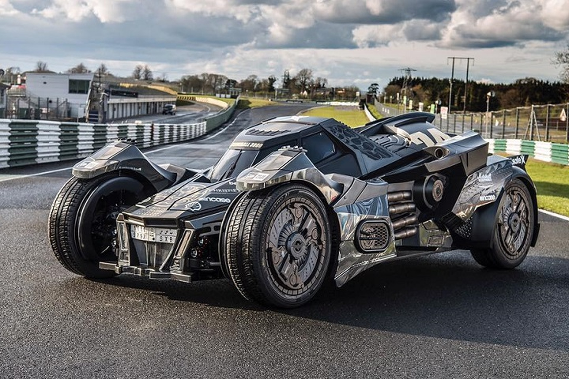 Big, Bad Custom Batmobile Debuts at Gumball 3000