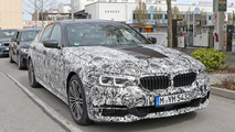 BMW 5 Series with M Sport package spied looking meaner than ever