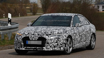 Next generation Audi A4 spied showing lighting clusters
