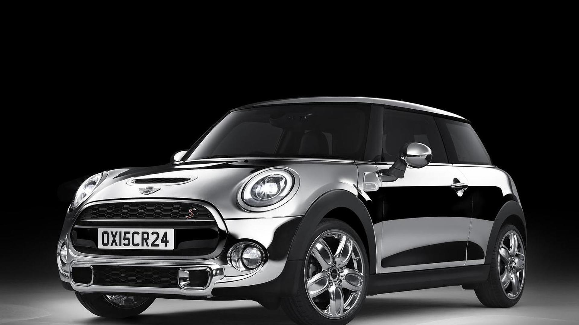 MINI three-door hatch gets shiny Chrome Line Exterior Deluxe