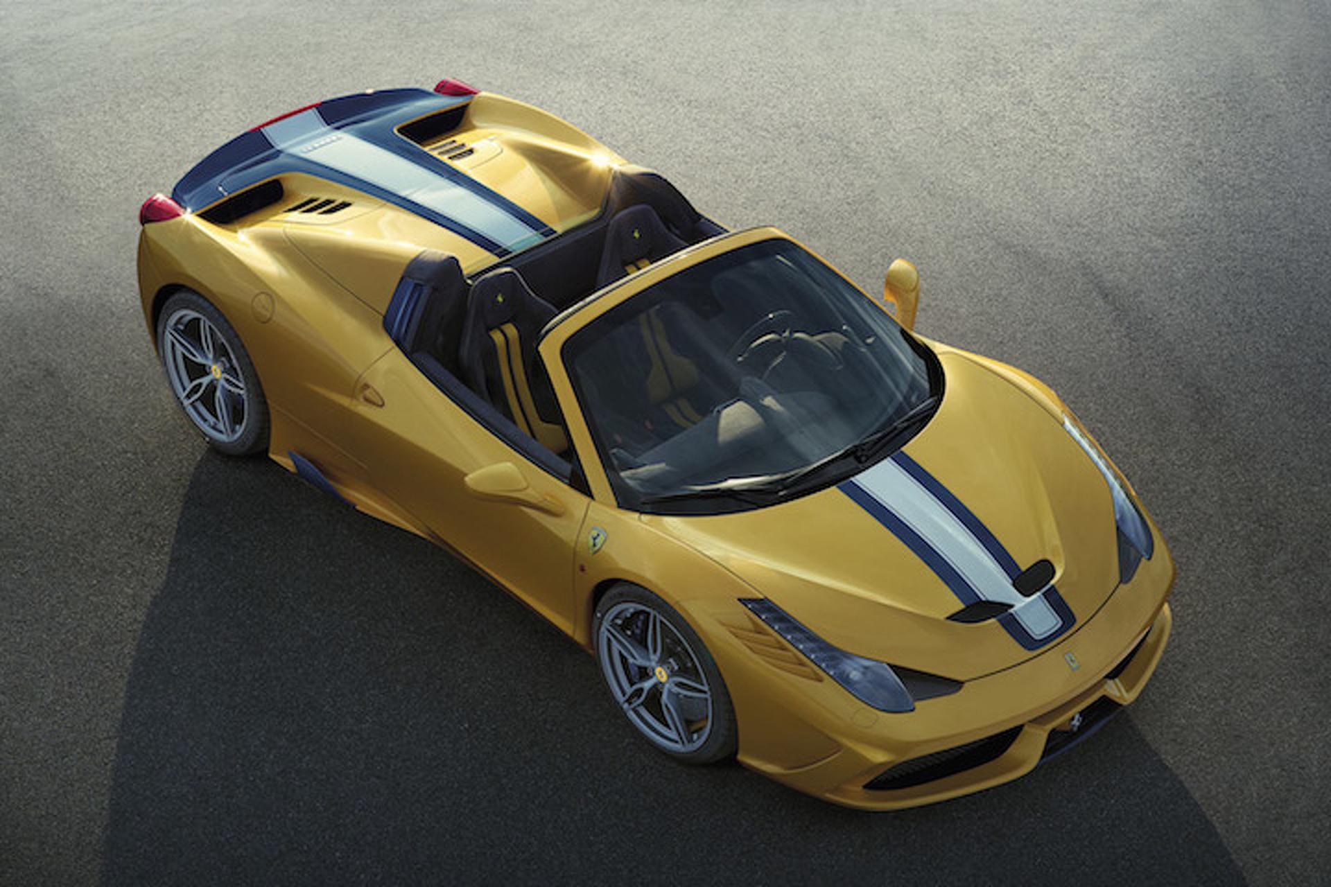 First Ferrari 458 Speciale A Fetches $900K