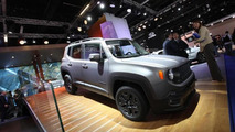 Jeep Cherokee & Renegade Night Eagle Editions unveiled in Frankfurt