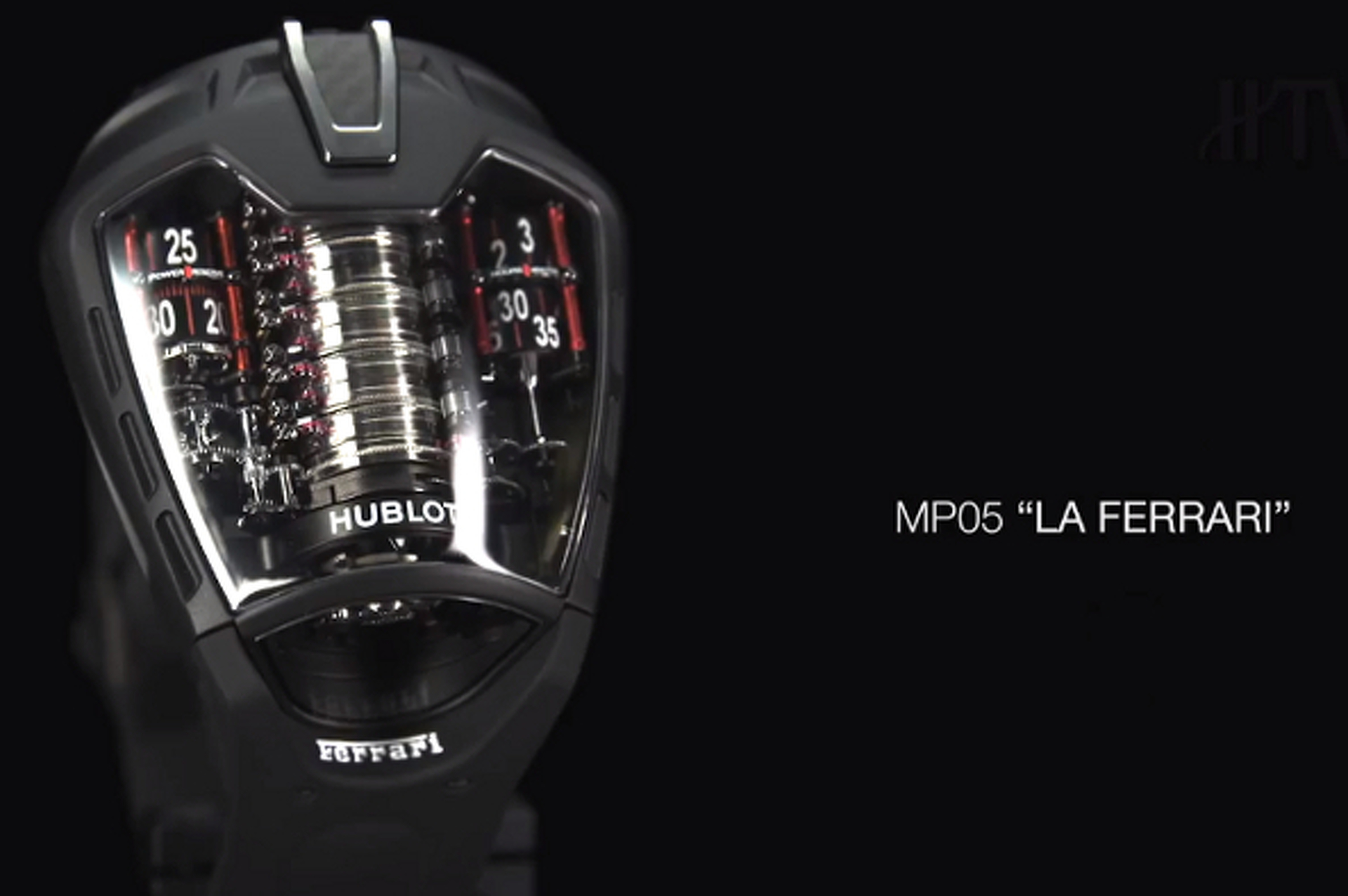 LaFerrari Watch by Hubolt is Equally as Exclusive [W/Video]