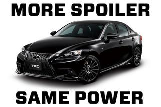 Lexus IS F Sport is All