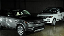 Range Rover HSE Td6 and Range Rover Sport HSE Td6 revealed in Detroit
