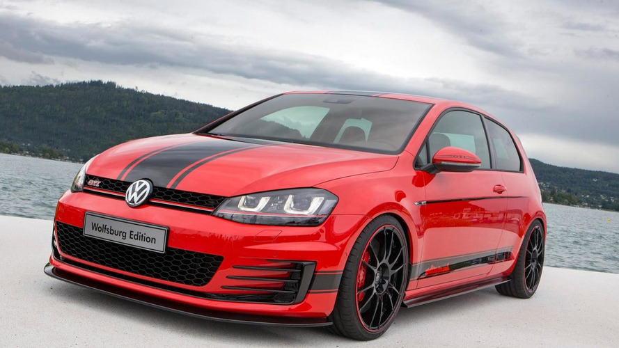 Golf GTI Wolfsburg Edition gets 380 PS from Volkswagen's apprentices for Worthersee