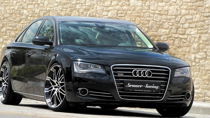 Audi A8 4.2 V8 upgraded by Senner Tuning to 397 PS
