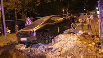 Ferrari F430 crashed in the Czech Republic