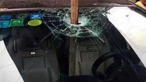 Honda Fit accident in China