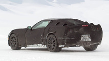 2014 Corvette C7 full body prototype spied winter testing