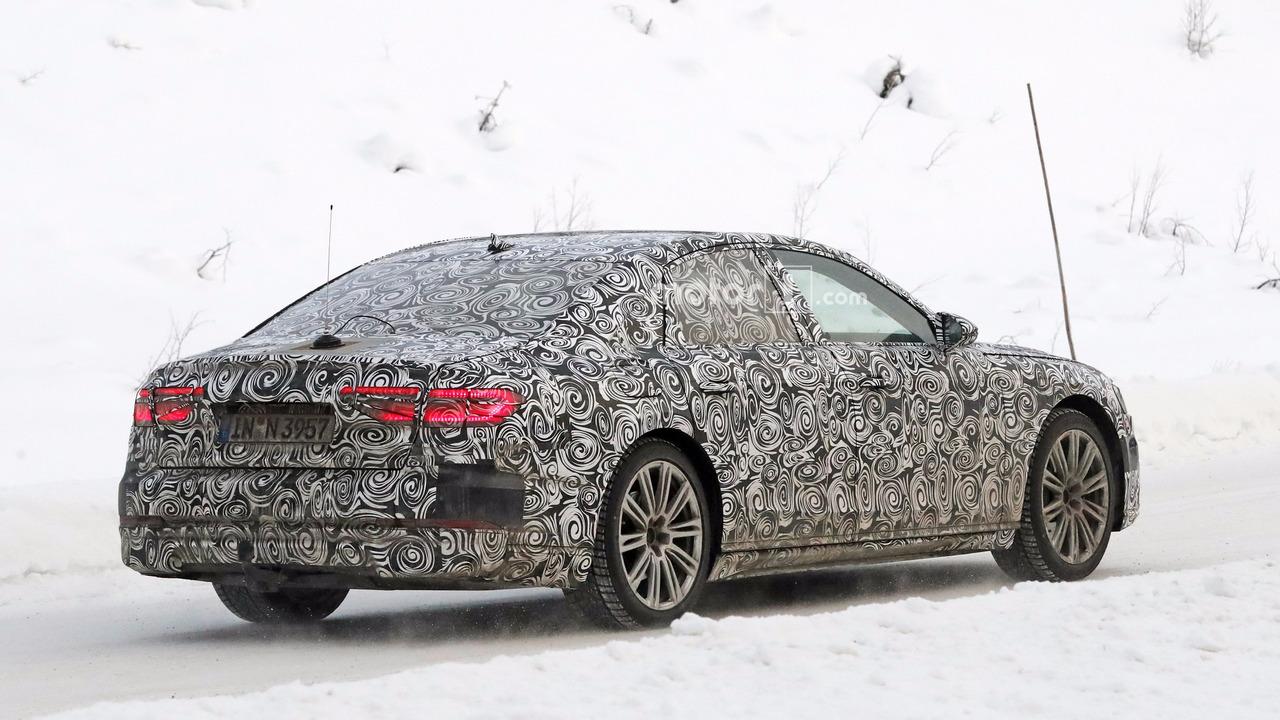 2017 - [Audi] A8 [D5] - Page 4 2018-audi-a8-spy-photo