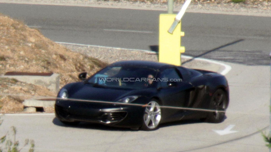 McLaren MP4-12C Spider to have carbon fiber hard top - report