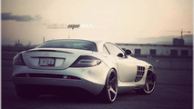 Mercedes SLS McLaren with ADV.1 wheels, 1024, 23.12.2011