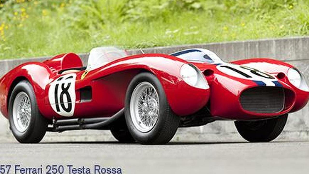 1957 Ferrari 250 Tesa Rossa prototype - 21.7.2011