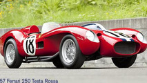 1957 Ferrari 250 Tesa Rossa prototype up for auction