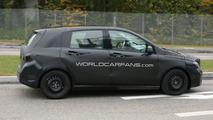 2012 Mercedes B-Class spy photo