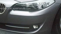 2011 BMW 5-Series Sedan,Touring and M5 Spied on Video