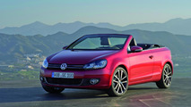 VW Golf Cabriolet revealed before Geneva