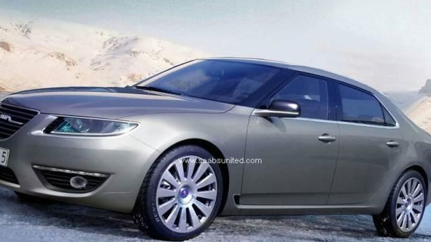 2010 Saab 9-5 sedan and wagon CGIs surface