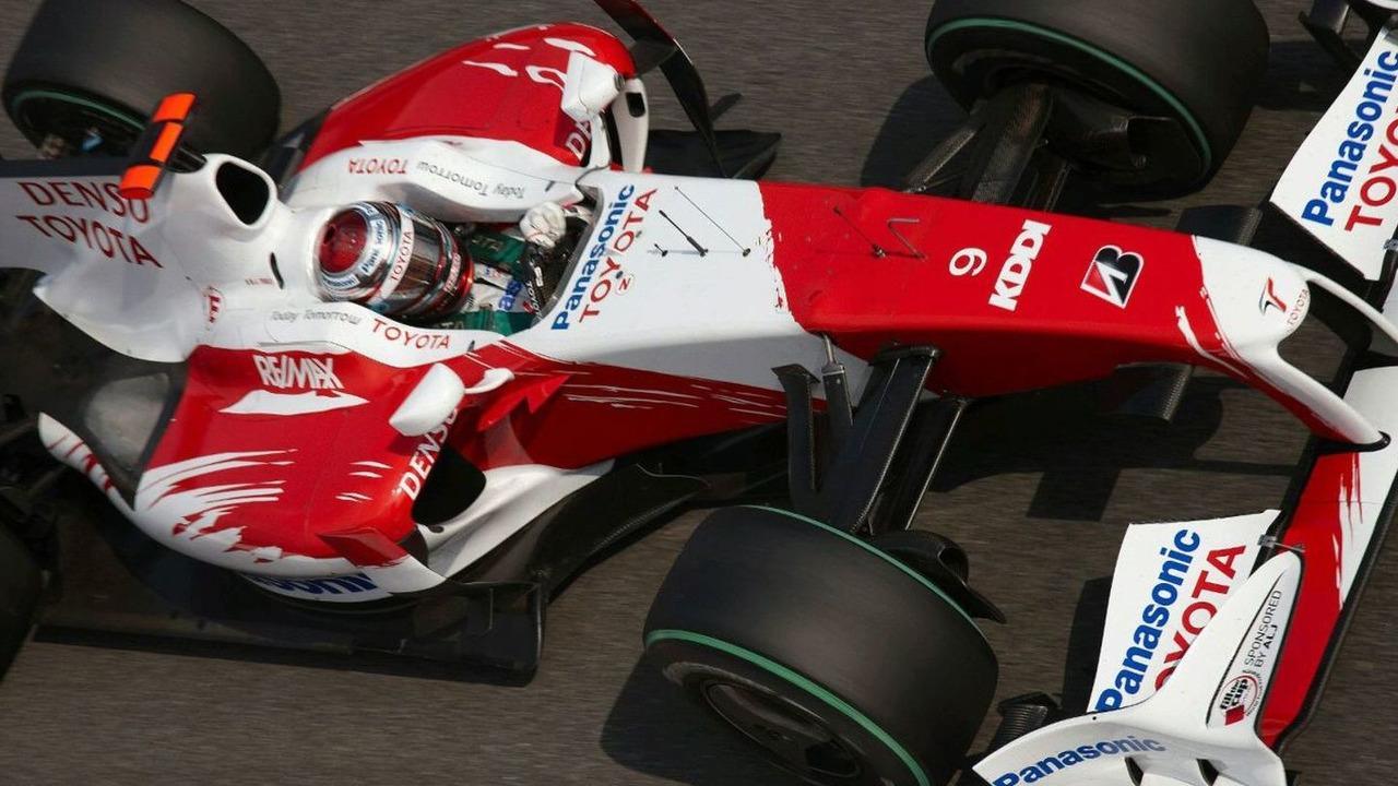 Jarno Trulli (ITA), Toyota Racing, TF109, Italian Grand Prix, Friday Practice, 11.09.2009 Monza, Italy