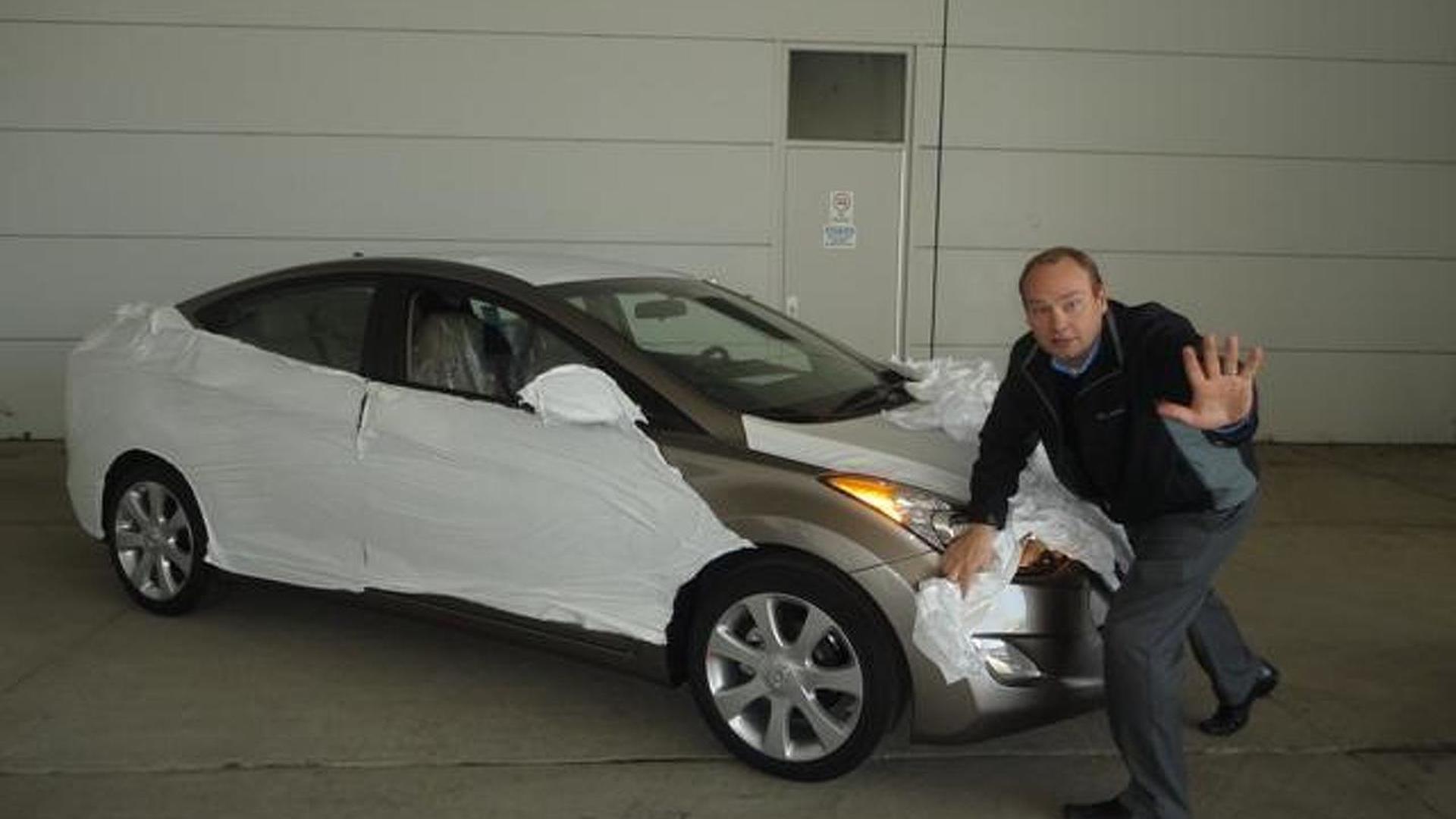2011 Hyundai Elantra teased on Twitter