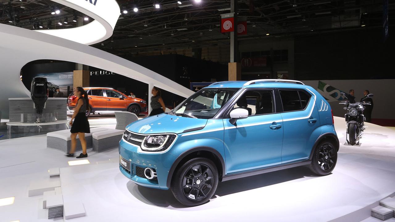 Original Suzuki Ignis Is An Adorable Little Crossover In Paris
