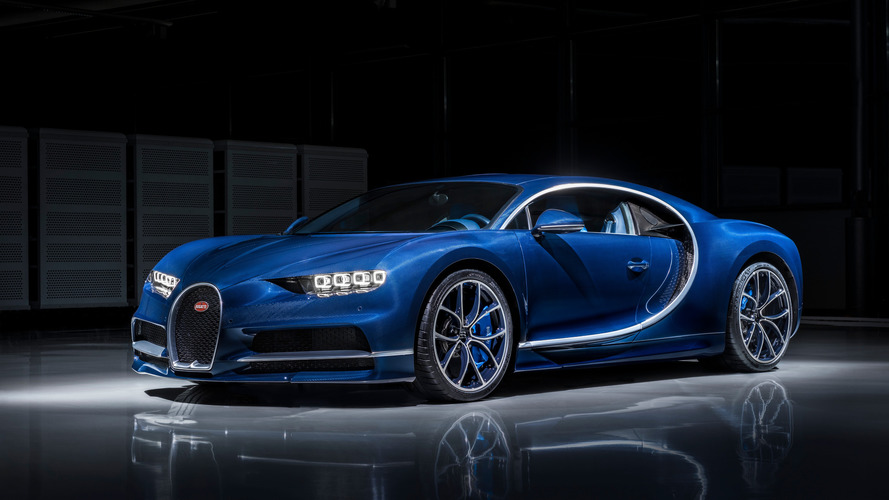 Bugatti Chiron Bleu Royal Genève 2017