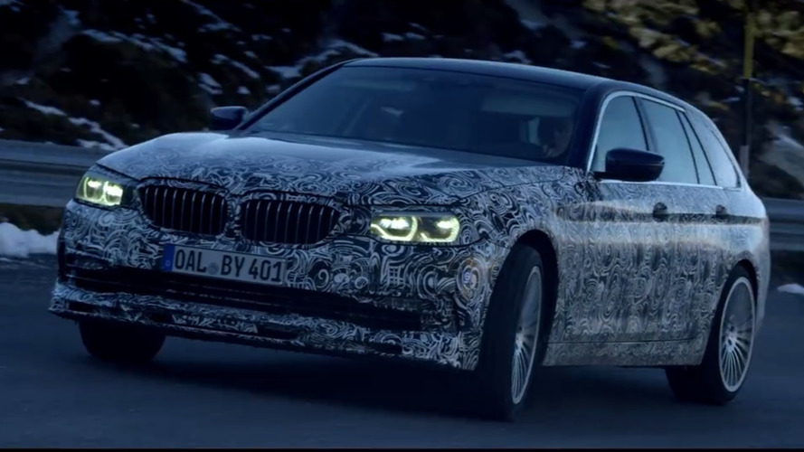 2018 Alpina B5 wagon teaser previews M5 Touring's substitute