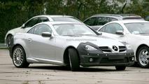 Mercedes SLK Facelift Keeps its F1 Nose