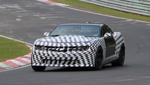 2012 Chevy Camaro Z28 spied testing at Nürburgring