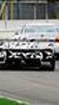 Saker GT supercar prototype spied testing