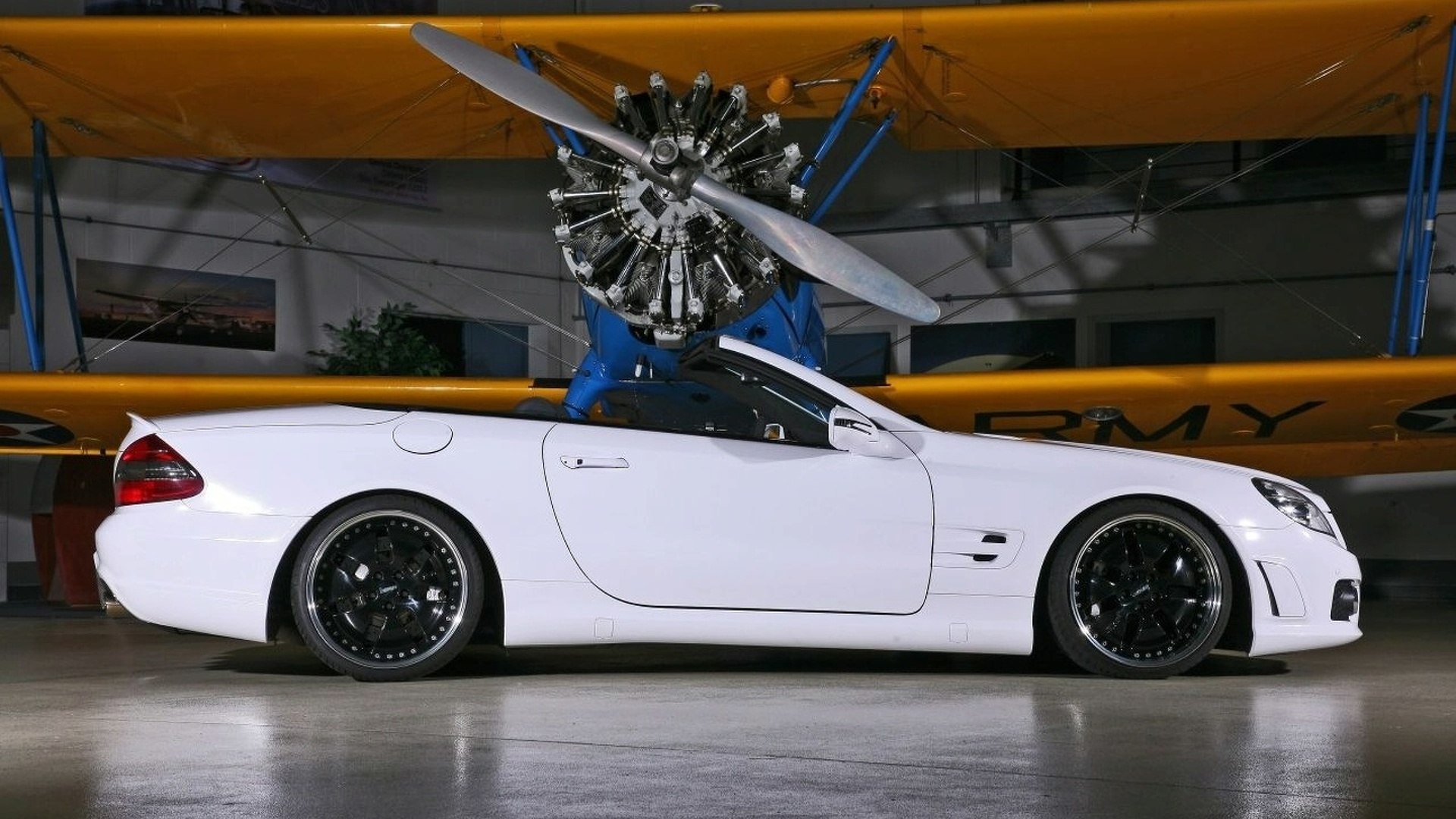 Inden-Design White Angel SL 65 AMG 680hp Conversion