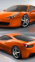 Ferrari 458 Italia - Lambo Arancio Atlas