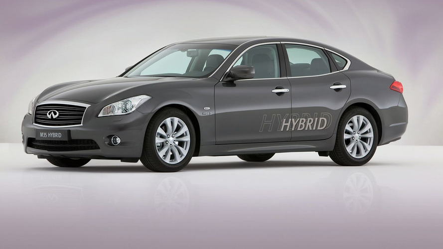 Infiniti M35 Hybrid Launched in Geneva [Video]