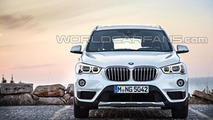 2016 BMW X1 leaked photo