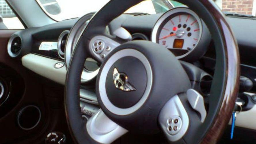 2008 Mini Clubman Interior Exposed
