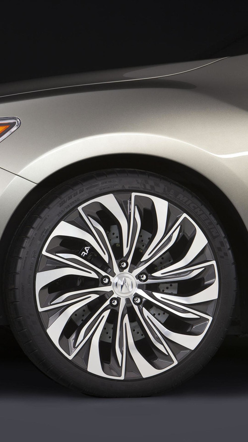 Acura RLX concept unveiled in New York [video]