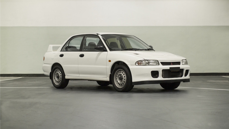 Mitsubishi Lancer Evo II RS for sale, looks like a winter beater